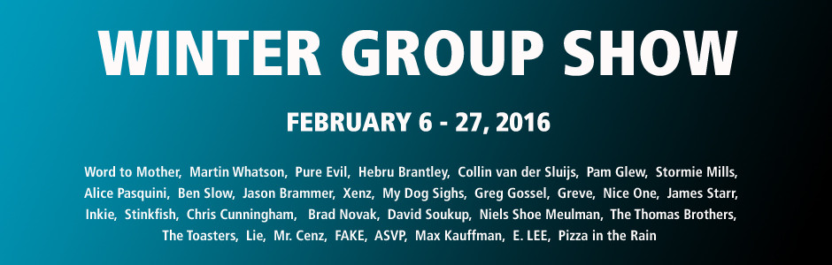 Exhibition: Winter Group Show