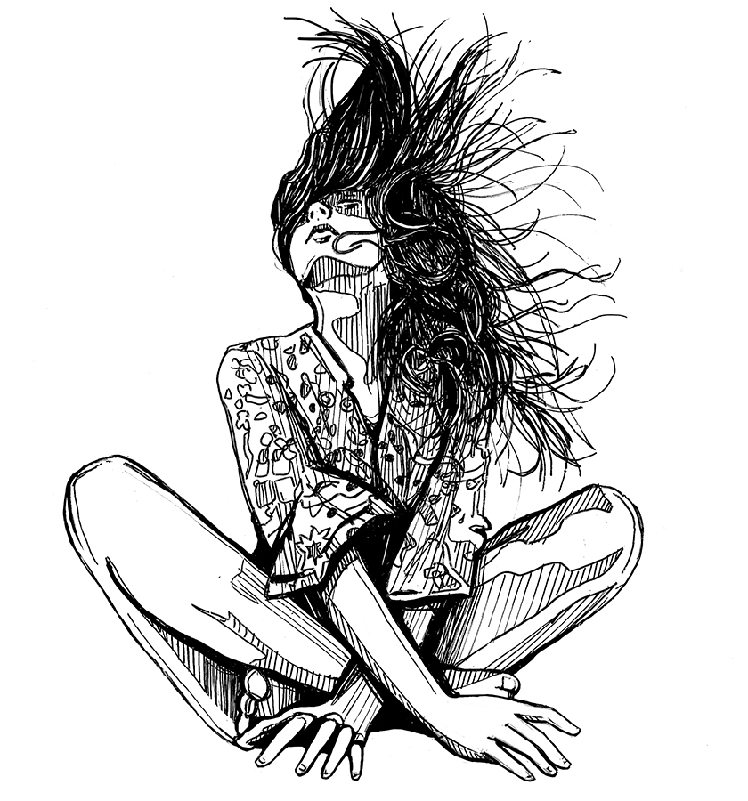 Alice Pasquini woman Sketch